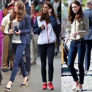 J Brand 811 Mid Rise Twill Skinny Jeans